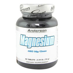 MAGNESIUM 450mg - 60 tablets