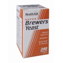 H/AID BREWERS YEAST Μαγιά 240tabs