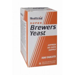 H/AID BREWERS YEAST Μαγιά 500tabs