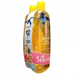 JOHNSON'S baby shampoo 2x750ml