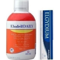 Pierre Fabre Eludril Daily 500ml + Elgydium Anti-Plaque 38ml