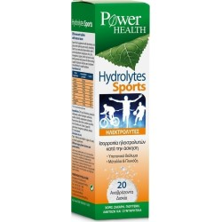 POWER HEALTH HYDROLYTES SPORTS 20 EFFERVESCENT TABS