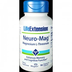 Life Extension Neuro-Mag Magnesium L-Threonate 90 φυτικές κάψουλες