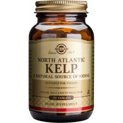 SOLGAR - North Atlantic Kelp 200μg - 250tabs