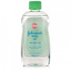 JOHNSON BABY OIL ALOE-VERA 300 ML