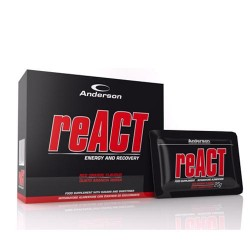 REACT BOX  20 SACHETS 25GR