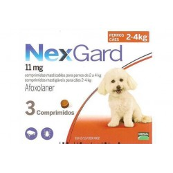 NexGard Medium Dog 11mg (2-4kg) / 3 δισκία