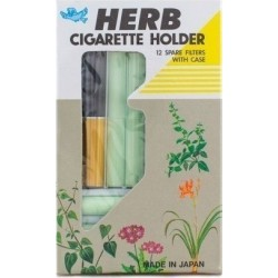 Vican Πίπα Herb, Cigarette Holder Black 12τμχ