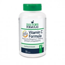 Doctor's Formula Vitamin C Formula Fast Action 30 Δισκία