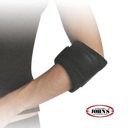JOHN'S TENNIS ELBOW STRAP WRAP AROUND BLACK LINE