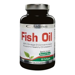 FISH OIL OMEGA 3 60CPS -  80,1g