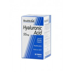 H/AID HYALURONIC ACID 30tabs 55mg