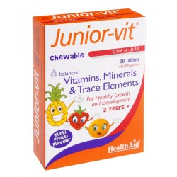 H/AID JUNIOR-VIT 30 tabs