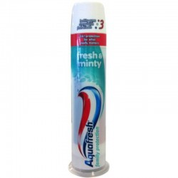 AQUAFRESH 100ml DISPENSER triple acrion