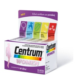 CENTRUM WOMEN A to Zinc 30 δισκία