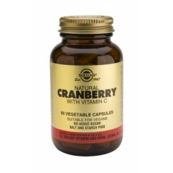 Solgar Cranberry Extract with vit C veg.caps 60s