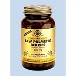 SOLGAR SAW PALMETTO BERRY 100VCAP
