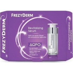 Frezyderm Revitalizing Serum 30ml Set με Night Force A+E Cream 10ml & Eye Balm 5ml