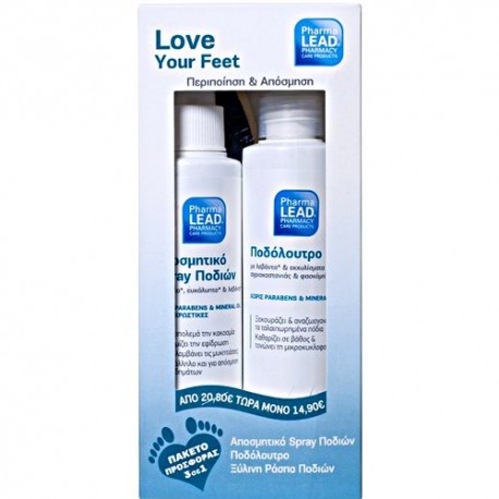 PHARMALEAD LOVE YOUR FEET SET300ML