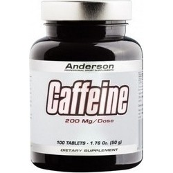Anderson Caffeine 200mg 100 ταμπλέτες