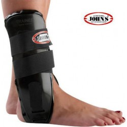 ACTION FOAM ANKLE BRACE BLACK ONE SIZE JOHNS23211