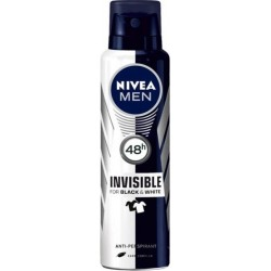 Nivea Men Black & White Power Invisible Spray 150ml