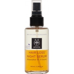 Apivita Loss Night Serum Hippophae TC & Δάφνη 100ml