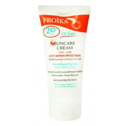Froika Suncare Cream Oil Free Tube SPF20 50ml
