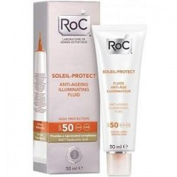 Roc Soleil Protect Anti-Ageing Illuminating Fluid Spf50 50ml