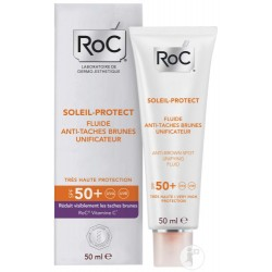 ROC SOLEIL PROTECT FLUIDE ANTI-TACHES BRUNES UNIFICATEUR 50ML