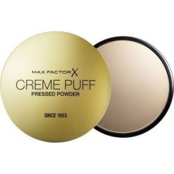 Max Factor Creme Puff Powder Compact 85 Light N Gay 21gr