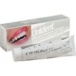 Intermed Unident Whitening Professional Toothpaste, Λευκαντική Οδοντόκρεμα 100ml