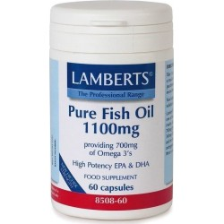 LAMBERTS - Pure Fish Oil 1100mg - 60caps