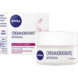 Nivea Crema Idratante Intensiva Day Cream Dry & Sensitive Skin 50ml