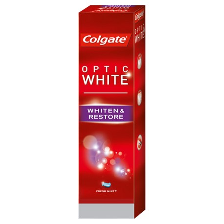 Colgate Optic White Whiten & Restore