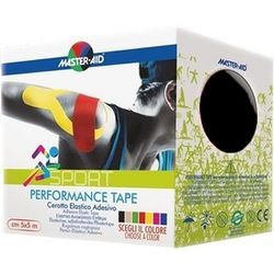 MASTER AID - SPORT Performance Tape 5mX5cm Μαύρη