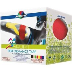 MASTER AID - SPORT Performance Tape 5mX5cm Κόκκινη
