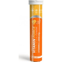 Naturalia Vitamin Force Vitamin C 1000mg 20 αναβράζοντα δισκία