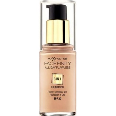 Max Factor Facefinity All Day Flawless 3 In 1 Foundation SPF20 40 Light Ivory 30ml