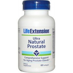 Life Extension Ultra Natural Prostate Formula 60 μαλακές κάψουλες