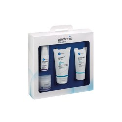 PANTHENOL Extra με Extra Face & Eye Cream 24h 50ml, Extra Face & Eye Serum 30ml, Extra Face Cleansing Gel 150ml