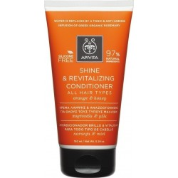 Apivita Shine & Revitalizing Conditioner με Πορτοκάλι & Μέλι 150ml