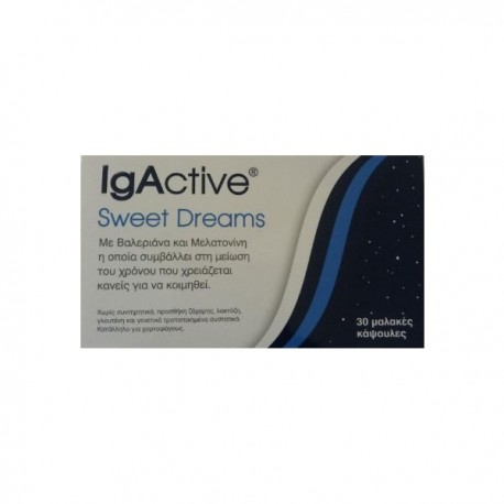 Igactive Sweet Dreams Sweet Dreams 30 μαλακές κάψουλες