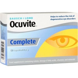 Bausch & Lomb Ocuvite Complete 60 caps
