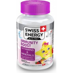 Swiss Energy Immunity Boost Vitamins & Minerals 60 gummies