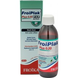 Froika Froiplak 0.20 PVP Action with Stevia 250ml