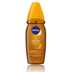 NIVEA SUN Oil Spray Deep Tanning, ΝΟ SPF, 150ml